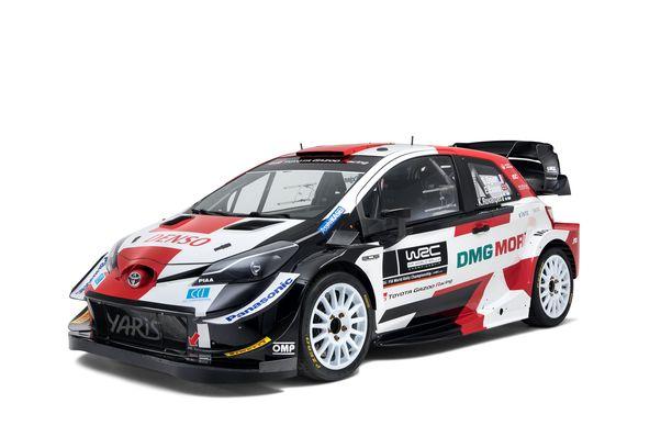 Tältä näyttää Toyotan kauden 2021 WRC-Yaris.
