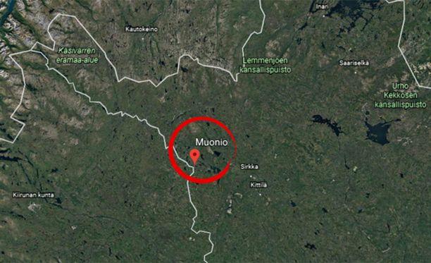 Muonio sijaitsee Lapissa.