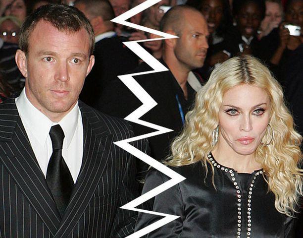 Madonnan ja Guyn erosta on huhuttu ties kuinka pitkään.