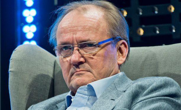 Sanoman ja Koneen hallituksen puheenjohtaja Antti Herlin vaatii media-alalle alhaisempaa verotusta.