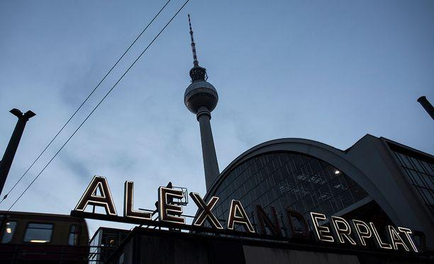 Silmitön väkivallanteko tapahtui itäisen Berliinin keskustassa.