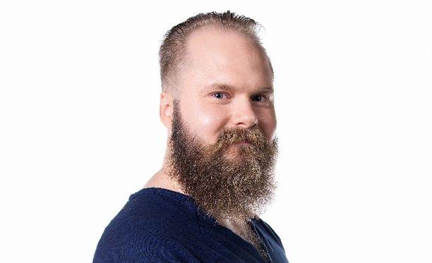 A-J Keskinen pitää suosittua Parrakas mies-blogia.