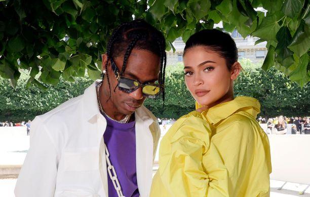 Travis Scott ja Kylie Jenner alkoivat seurustella keväällä 2017.