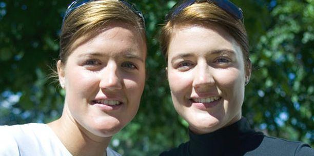 Emilia ja Erika Nyström tekivät suomalaista rantalentopalloiluhistoriaa.