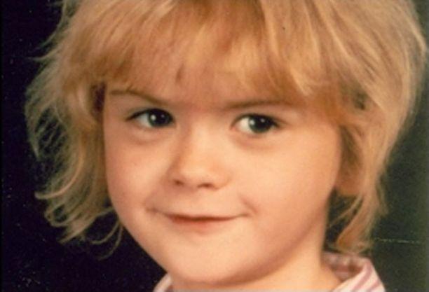 FBI:n julkaisema kuva April Tinsleysta, joka kidnapattiin vuonna 1988.