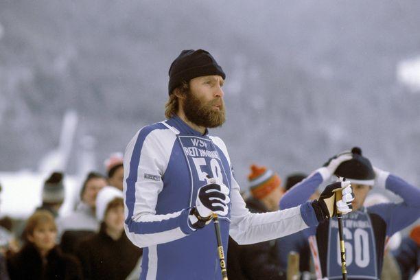 Juha Mieto on värikkään elämänsä aikana ollut monessa mukana. Kuva vuodelta 1983.