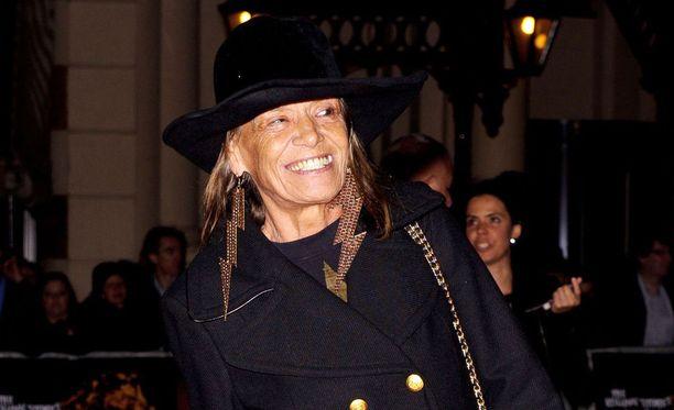 Italialaissyntyinen Anita Pallenberg on kuollut.