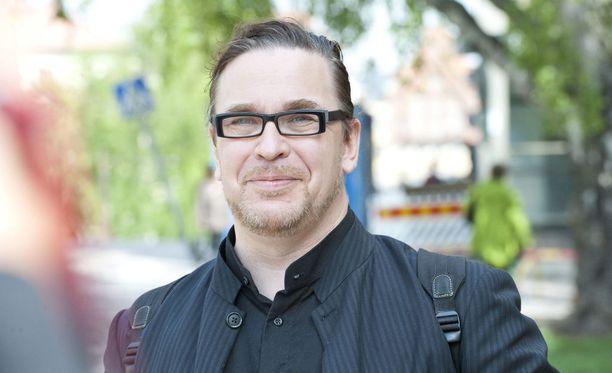 Vihreiden kansanedustaja Jyrki Kasvi vuonna 2011.