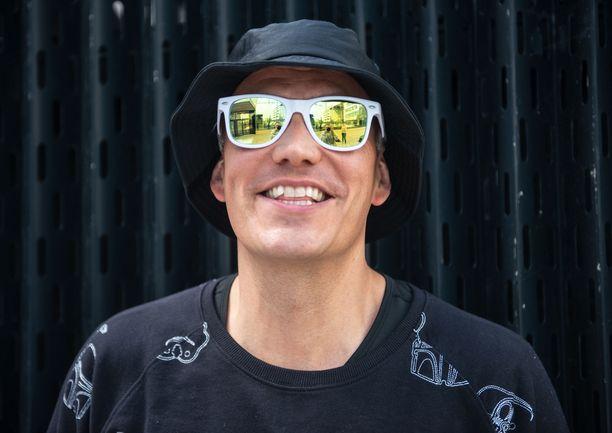 Petri Nygård on tehnyt uraa rap-artistina jo 20 vuotta.