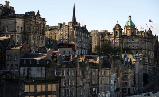 Toinen katoamisista tapahtui Edinburgissa Skotlannissa.