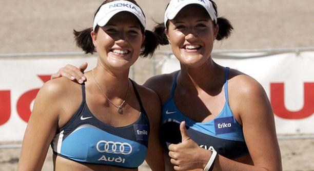 Emilia ja Erika Nyström ottivat arvokkaan voiton Montrealin Beach Volley -turnauksessa.