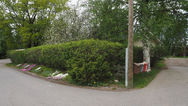 Laihia on pieni reilun 8000 asukkaan kunta Pohjanmaalla. Pidetyn 60-vuotiaan naisen kuolema on järkyttänyt paikkakuntaa syvästi. Kuva tapahtumapaikan läheisyydestä.
