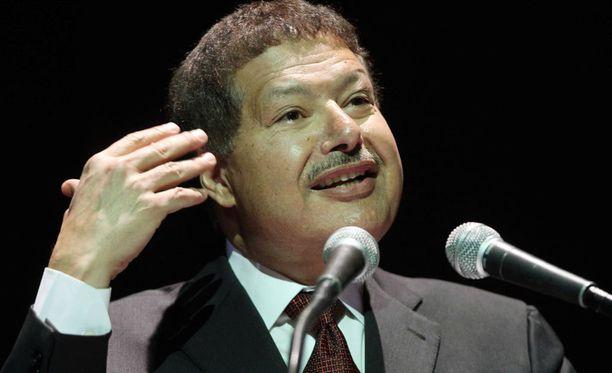 Kemian Nobel-palkinnon vuonna 1999 voittanut egyptiläinen Ahmed Zewail on kuollut.