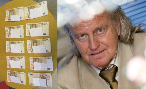 Kimmo Elomaan kotoa löytyi 10 000 euroa käteistä kylpytakin taskusta.