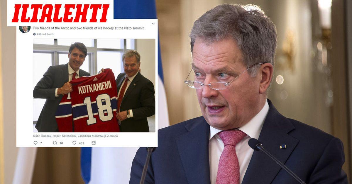 Presidentti Niinistö kirkastaa Suomen