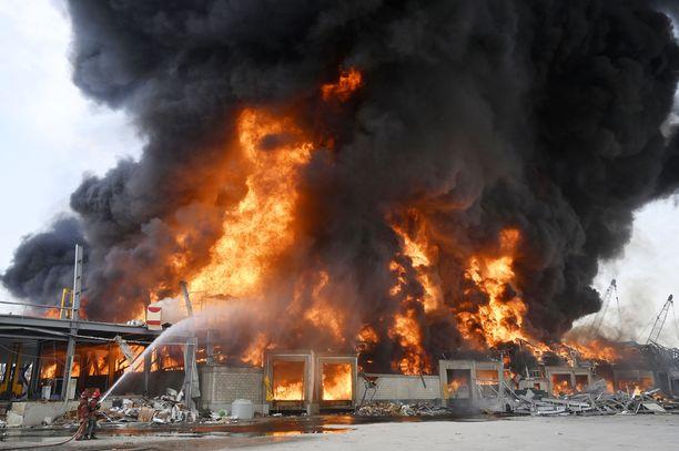 Torstaina syttyneen palon syy ei ole vielä selvillä.