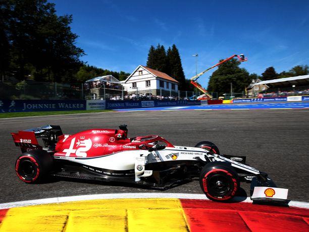 Belgian GP alkoi Kimi Räikkösen kannalta huonosti.