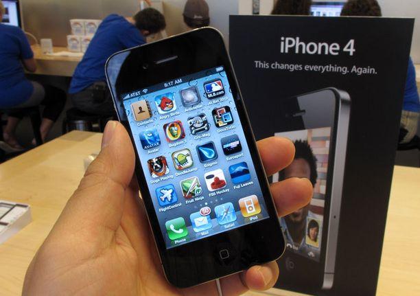 Applen mukaan iPhone 4 saapuu Suomen myyntiin perjantaina.