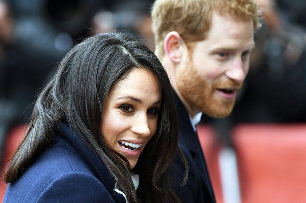 Meghan Markle ja prinssi Harry menevät ensi kuussa naimisiin.