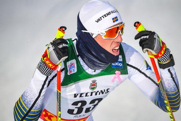 Ruotsin tähtihiihtäjä Calle Halfvarsson on tyytymätön taktiseen osaamiseensa.
