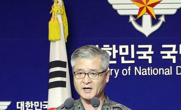 Etelä-Korean armeijan kenraali Cho Han-kyu tuomitsi voimakkaasti Pohjois-Korean kuudennen ydinkokeen.