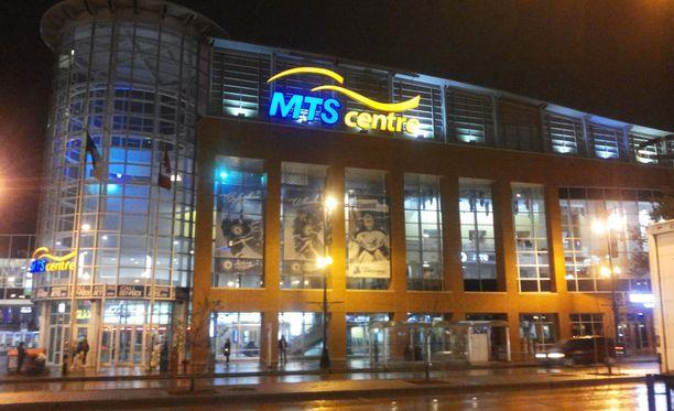 Päättyneellä kaudella Winnipeg Jetsin kotihallin nimi oli MTS Centre.