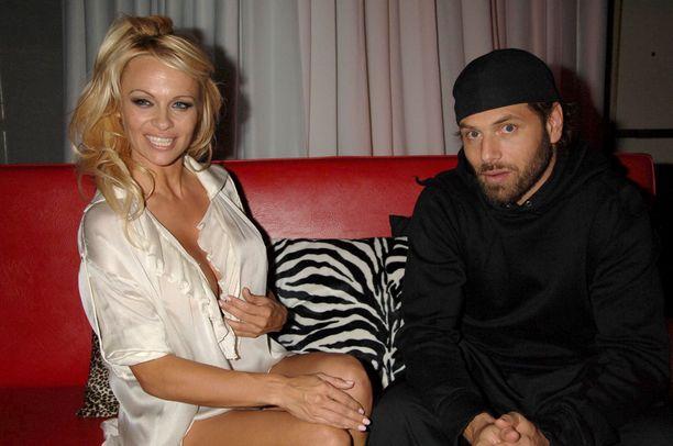 Pamela ja Rick vuonna 2007.