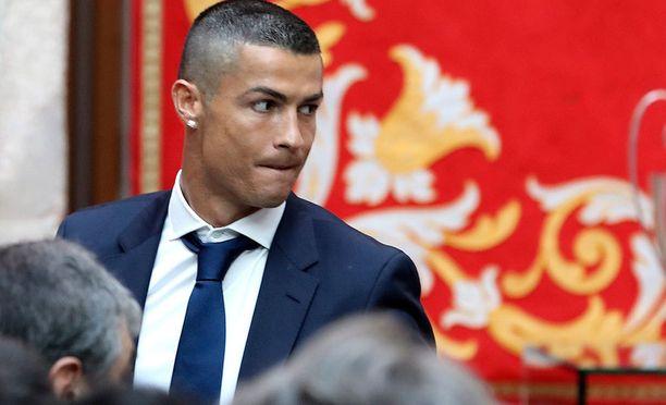 Cristiano Ronaldo joutuu selvittämään verosotkujaan.
