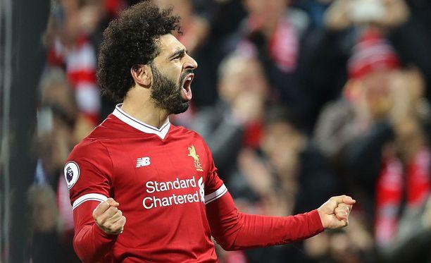 Mohamed Salah nousi Valioliigan maalipörssissä Harry Kanen kantaan. Kane on osunut tällä kaudella 18 kertaa, Salah 17.