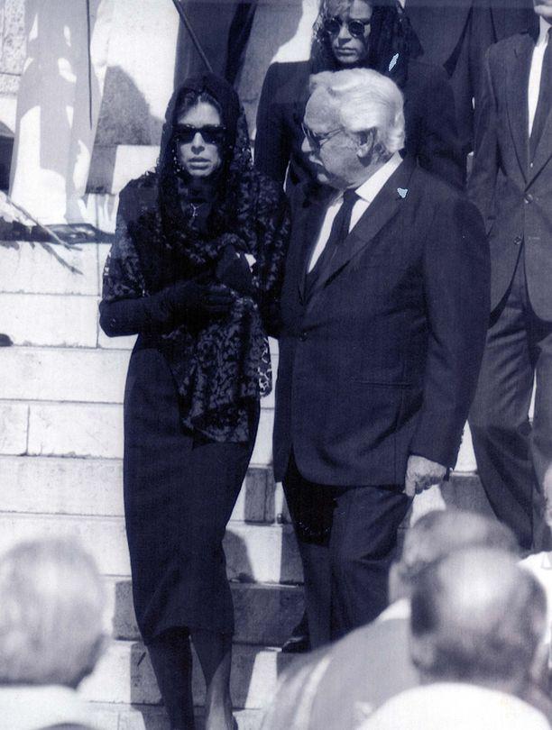 Stefano Casiraghin hautajaiset pidettiin Monacon katedraalissa.