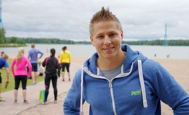 Markus Pöyhönen toimii nykyisin yrittäjänä hyvinvointivalmennuksessa.