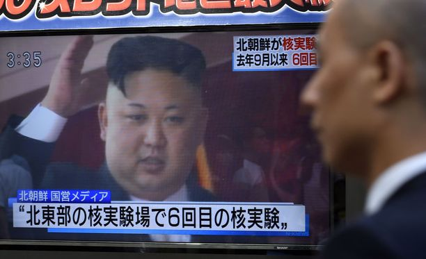 Kim Jong-un on viime päivät iloinnut Pohjois-Korean onnistuneesta ydinkokeesta.
