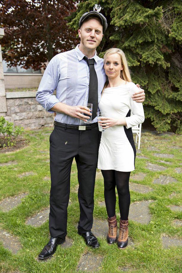 Koop Arponen ja Cordelia Arponen ovat olleet yhdessä jo vuosia. Vaimo on ammatiltaan saksofonisti.