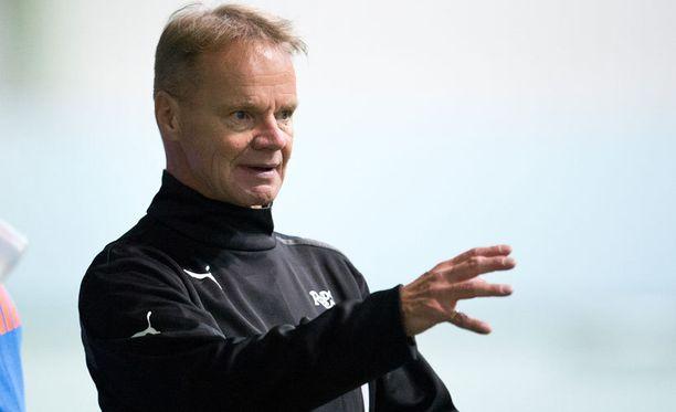 RoPS:n päävalmentaja Juha Malinen oli tyytyväinen joukkueensa ilmeeseen HJK:ta vastaa.