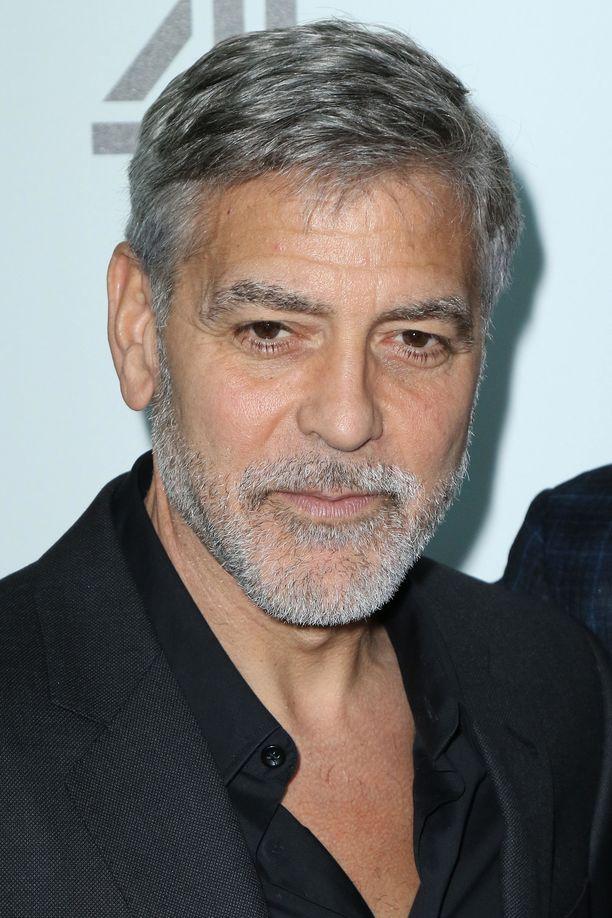 George Clooney on romantikko.