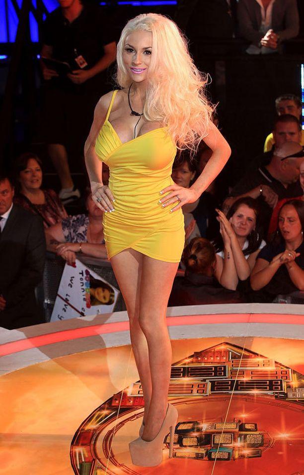 Courtney Stodden osallistuu parhaillaan julkkisten Big Brotheriin Briteissä.