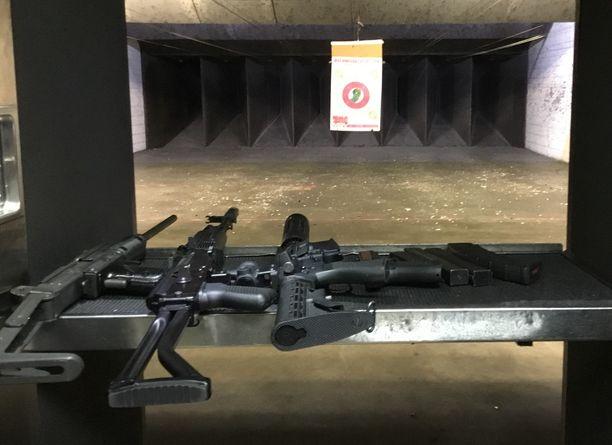Mahdollisuus ampua automaattiaseilla on Nevadan osavaltion ja Las Vegasin erikoisuus.