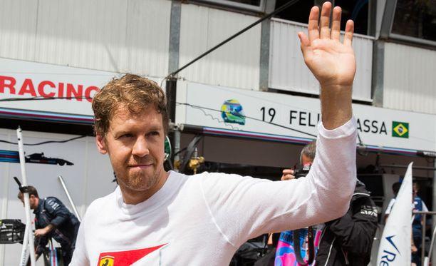 Sebastian Vettel on tyytyväinen Ferrarin kehitykseen.