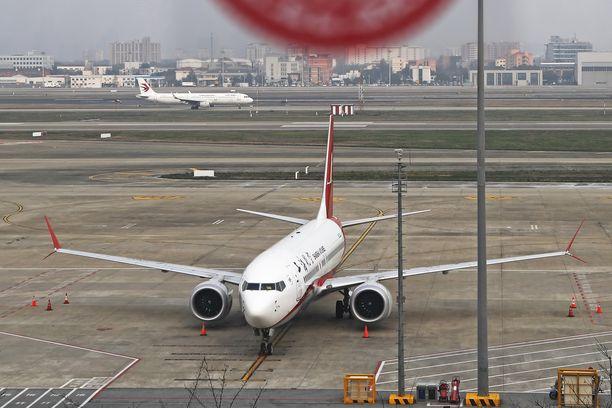 Boeing 737 Max -koneet ovat lentokiellossa melkein kaikkialla maailmalla.