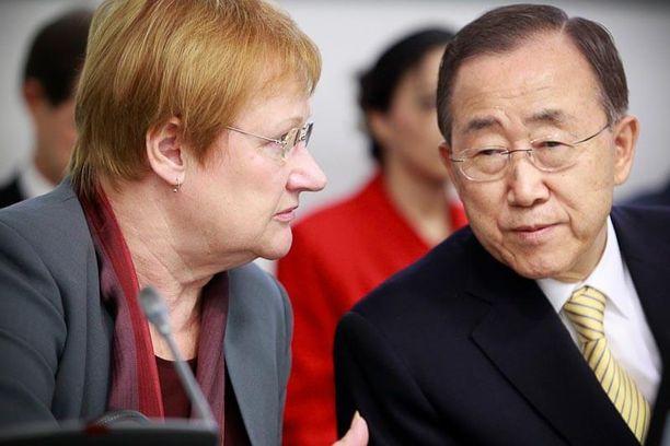 Halosta kaavailtiin jopa Kofi Annanin seuraajaksi YK:n pääsihteerinä, mutta pesti meni Koreaan Ban Ki-moonille.