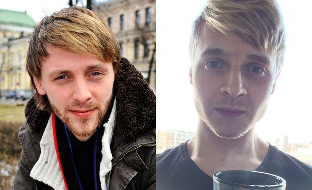 Muusikko Reino Nordin ja Reinon kaksoisolento Ville Kuisma.