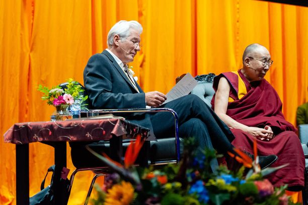 Richard Gere ja Dalai Lama ovat pitkäaikaisia ystäviä.