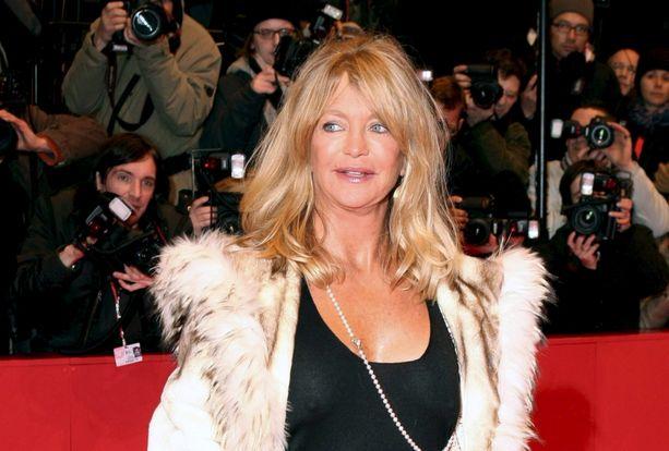Goldie Hawn on tunnettu Oscar-palkittu näyttelijä.