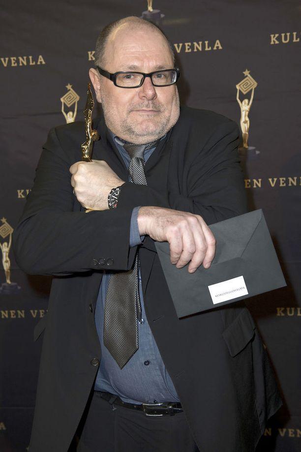 Ruben Stiller on kertonut, että hän haluaisi jatkaa Yleisradiossa radion puolella. Kuva vuoden 2013 Venla-gaalasta, jossa Pressiklubi palkittiin vuoden keskusteluohjelmana.