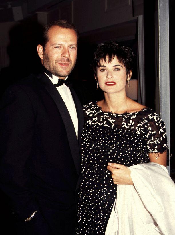 Bruce Willisin ja Demi Mooren avioliitto kesti 13 vuotta.