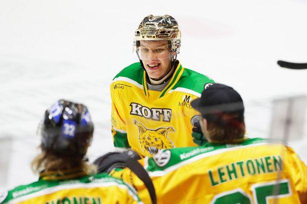 Eemeli Suomi teki Ilveksen voittomaalin.
