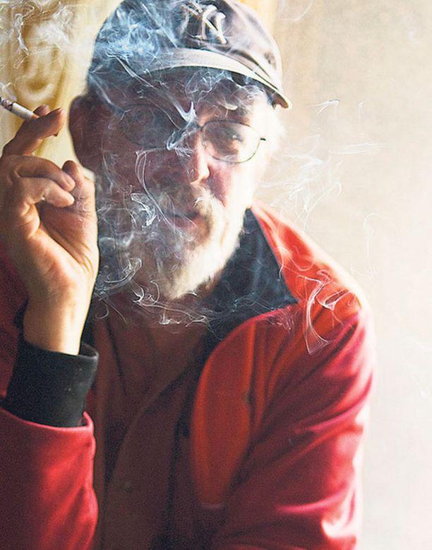 Tupakka ja Topi olivat erottamaton yhdistelmä 40 vuotta. Kuva vuodelta 2007.