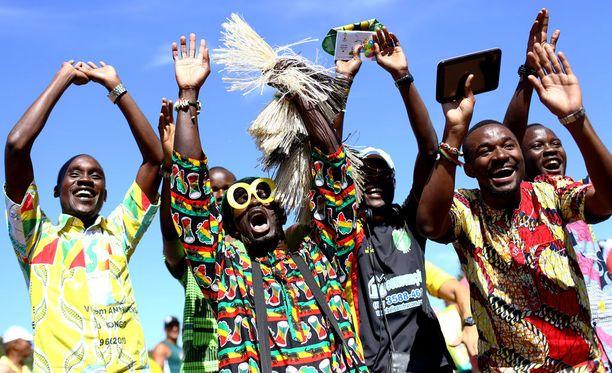 Ghanan maajoukkueella riittää faneja, mutta sarjapeleihin kaivataan lisää yleisöä.