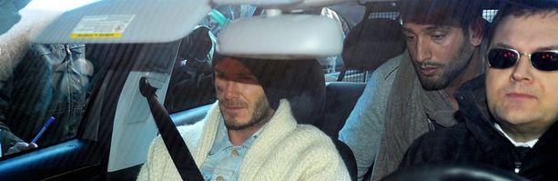 David Beckhamkin oli ehdolla Urheilugaalassa.