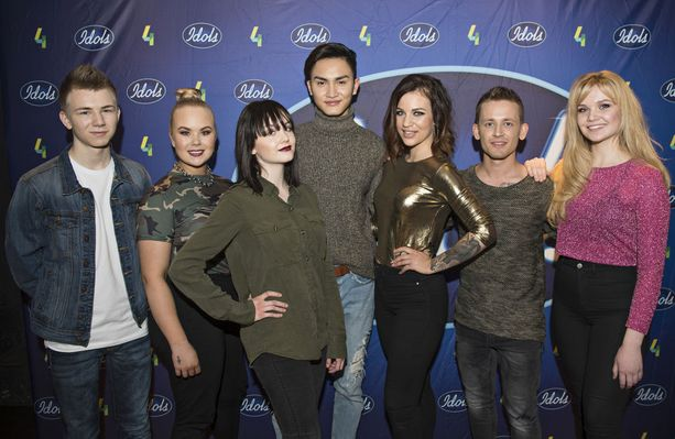 Vasemmalta oikealle: Leevi Salonen, Tiia Laakso, Anniina Timonen, Kevin Sarinko, Julia Rautio, Samuli Pesonen ja Lotta-Maria Heinonen.